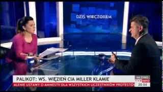 Janusz Palikot:to jest moim zdaniem trudna oferta dla opozycji(Dziś wieczorem TVP Info, 25.01.2014)
