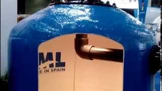 Фильтр для бассейна(Фильтр для воды бассейна с боковой установкой вентиля. Вода из бассейна поступает в фильтр с помощью насоса..., 2015-02-07T13:18:03.000Z)