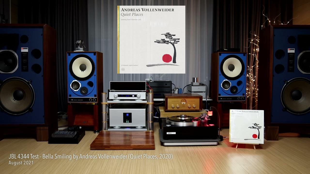 Download JBL 4344 Test - Andreas Vollenweider (Quiet Places)