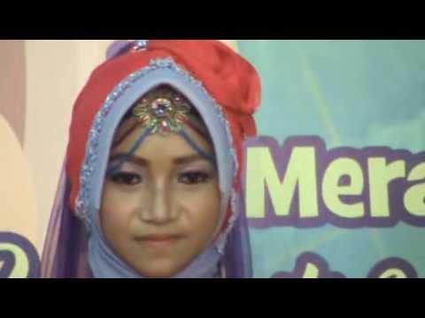 Juara 1 (23) Annisa Kategori putri Festival Hadroh Sholawat Kubro
