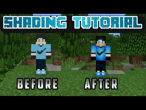 How to shade your minecraft skin using ps touch on Android