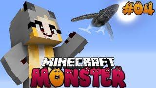 DAS FLIEGENDE UNGEHEUER ✿ Minecraft MONSTER #04 [Deutsch/HD]