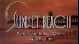 Sunset Beach..1996 promo - 20 years since it began. thumbnail