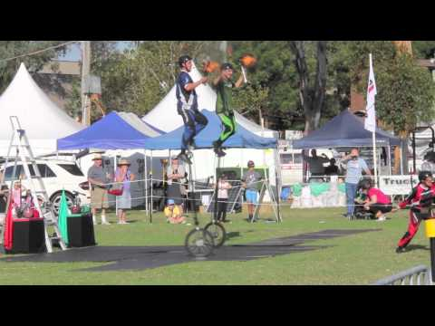 Camden Show Unicycle Stunt