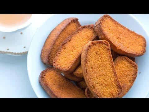 How To Make Cake Rusk|Brittania Cake Rusk Recipe