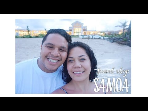 Travel Vlog: Samoa Part 1 || Samoa Airways Business Class, Taumeasina Island Resort