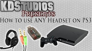 Video How To Use ANY 3.5mm Microphone Headset With The PS3 - USB Sound Card download MP3, 3GP, MP4, WEBM, AVI, FLV Juni 2018