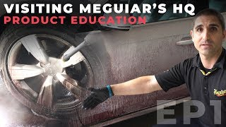Visiting Meguiar's Headquarters & Product Education: EP1