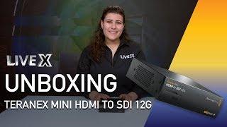 Unboxing: Teranex Mini, HDMI to SDI 12G