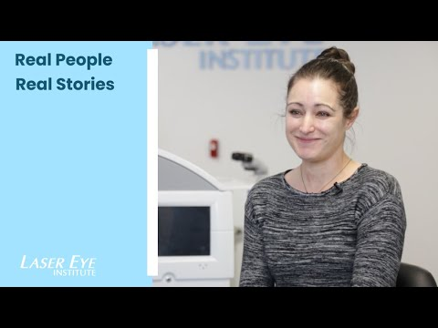 Stacey Share Her Custom LASIK Story - Laser Eye Institute