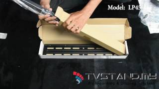 Unboxing | Fixed LCD LED TV Wall Mount Upto 32
