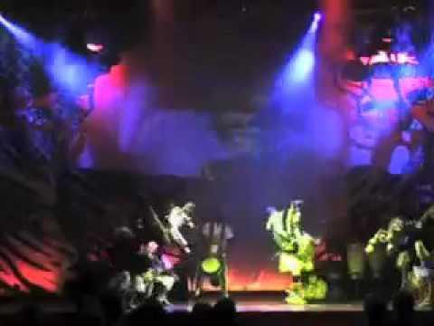 Adama in Mother Africa Circus
