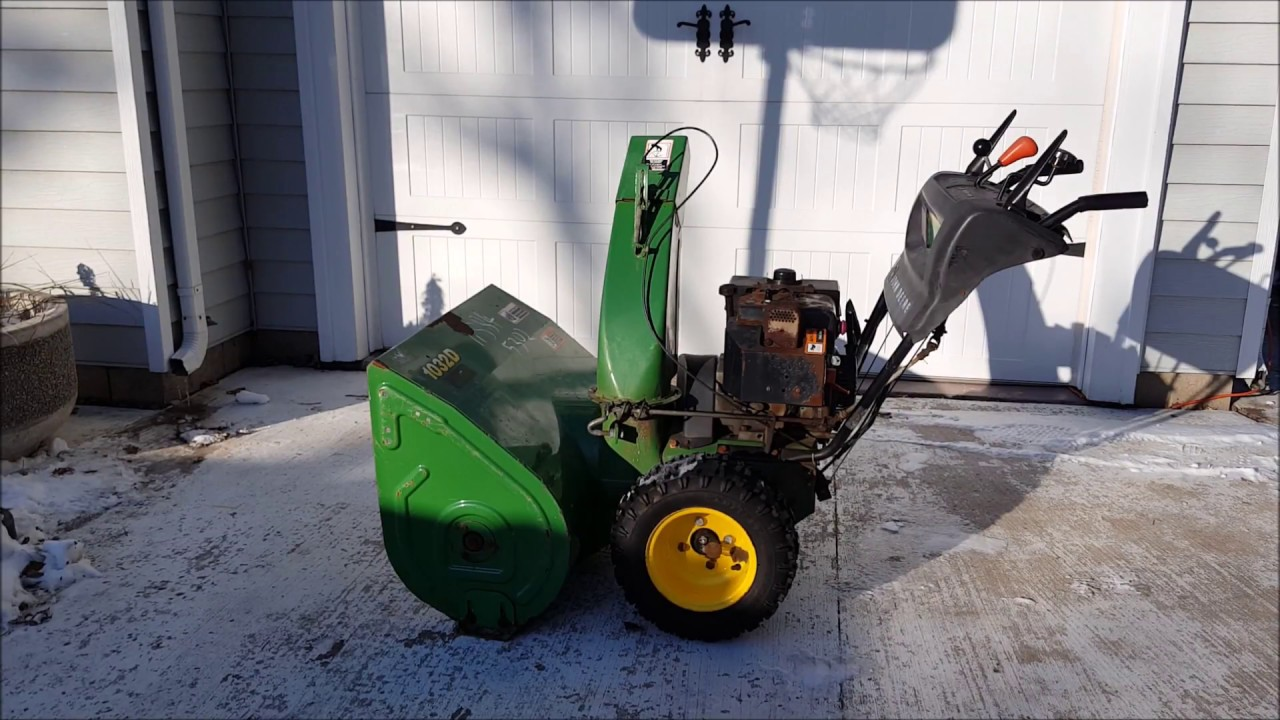 Snow Blower Won't Start   How to fix it in minutes  for pennies