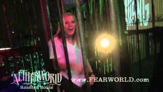NETHERWORLD Haunted House 2014 Parking Lot Fun!