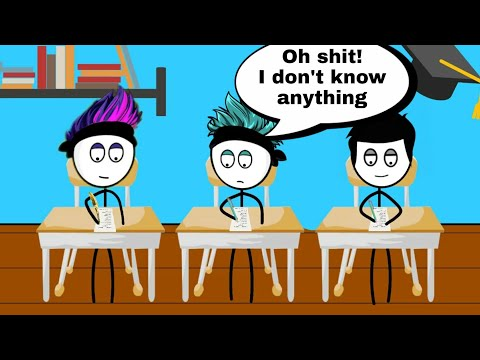 When a gamer fails in exam