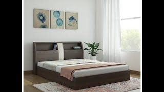 Wooden double bed ideas   Indian bed designs   Bed ideas of wood