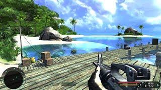 Far Cry 1: Walkthrough - Pier [Level 4] (Realistic Mode) 4K UHD - 60FPS MAX Settings