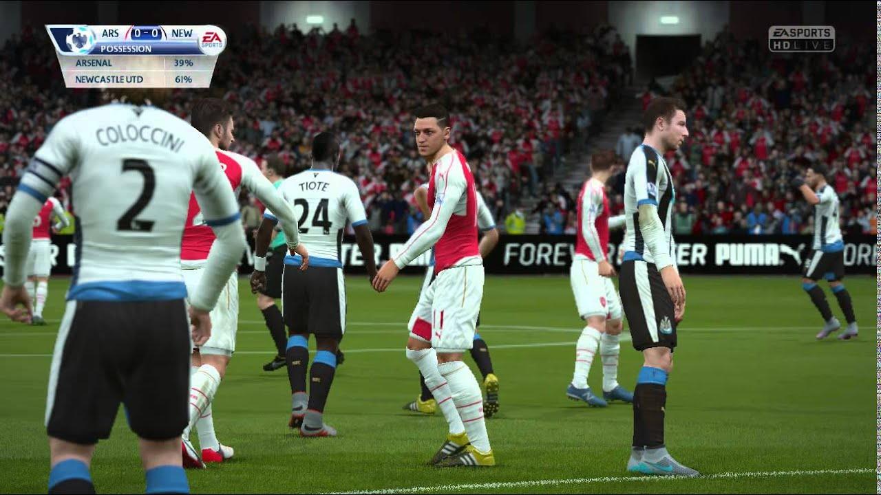 Barclays Premier League Six Arsenal V Newcastle