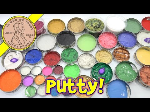 Crazy Aaron's Putty Collection - Over 40 Putties! Thinking P