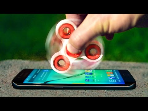 Thumbnail: Can 1000 MPH Fidget Spinner Shatter Galaxy S8 Infinity Display?