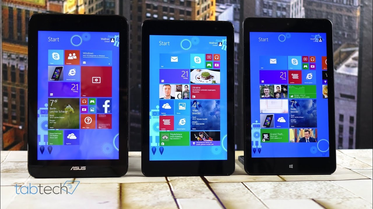 Dell venue 8 pro vs asus vivotab note 8