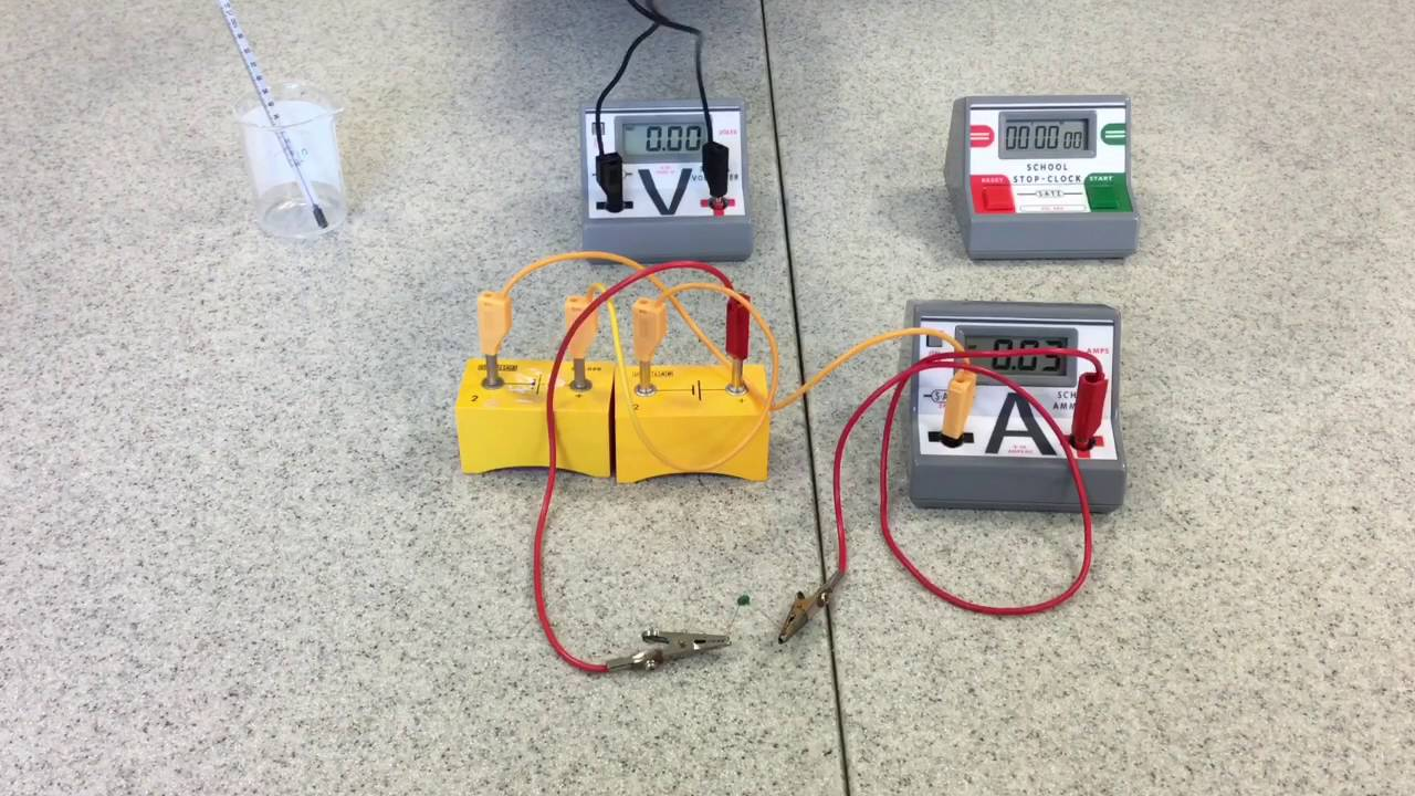 Physics Required Practical 4 - Thermistor