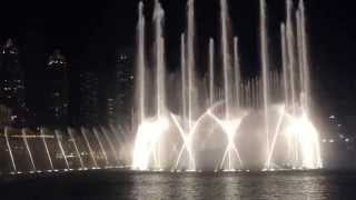 Dubai Dancing Fountain - Enrique Iglesias - Hero (Spanish) FullHD