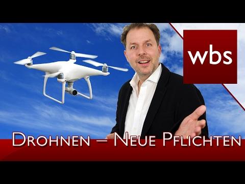 Drohnen – Neue Pflichten für Besitzer von Flug Drohnen | Rechtsanwalt Christian Solmecke