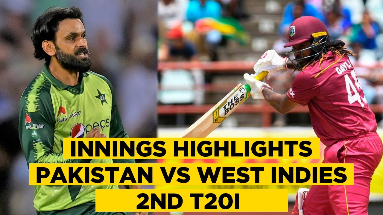 Pakistan vs West Indies | 2nd T20I | 2nd Innings Highlights | PCB | MA2E