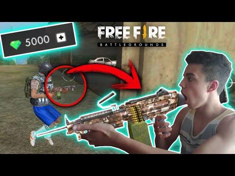 Probando Los Nuevos Camuflajes Para Armas Free Fire Battlegrounds