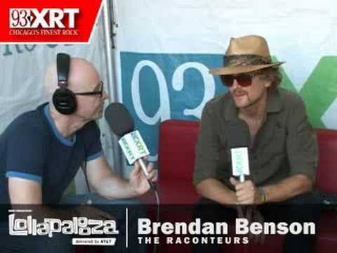 Brendan Benson of the Raconteurs at Lollapalooza