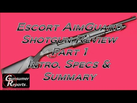Escort AimGuard Shotgun Review: Part 1 - Intro, Specs and Summary