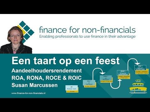 ROA, RONA, ROCE, ROIC door Finance for Non-Financials