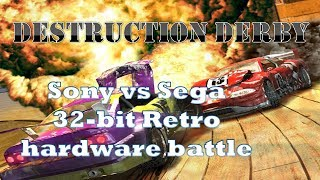 Destruction Derby: RetroPerspective In-depth Technical Retro Rumble Saturn PS1