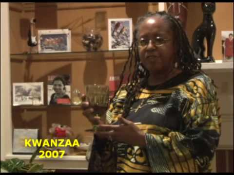 Kwanzaa Celebration in Tuskegee: Libation Ceremony
