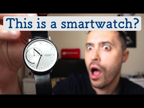 SKAGEN CONNECTED - A Smartwatch That Doesn't Look Like A Smartwatch!