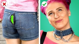 9 School Fashion Hacks! DIY Clothing Ideas And Other Crafts