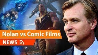 Chris Nolan Slams Modern Superhero film making & Film Schedules