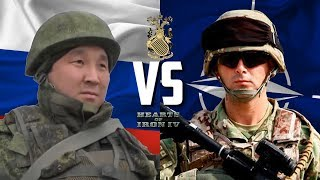ПРОТИВОСТОЯНИЕ РОССИИ И НАТО В HEARTS OF IRON IV ECONOMIC CRISIS 2013