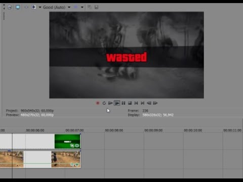How To Make A Gta V Wasted Video Using My Wasted Template Download Link