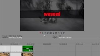 How to make a GTA V WASTED video using my wasted template + download link