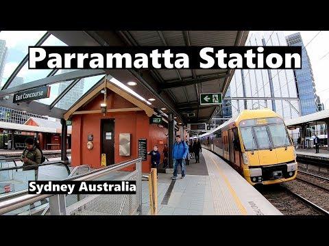 Parramatta Station - Sydney Australia | Sydney Trains