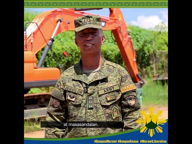 #MessageofPeace ni Lt. Col. Juguilon, Joint Task Group Builders.