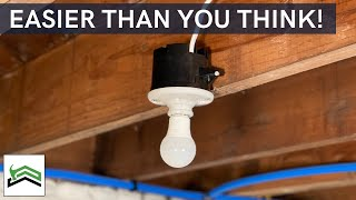How To Add A Nęw Light To An Existing Circuit | Basement, Attic, Or Crawlspace