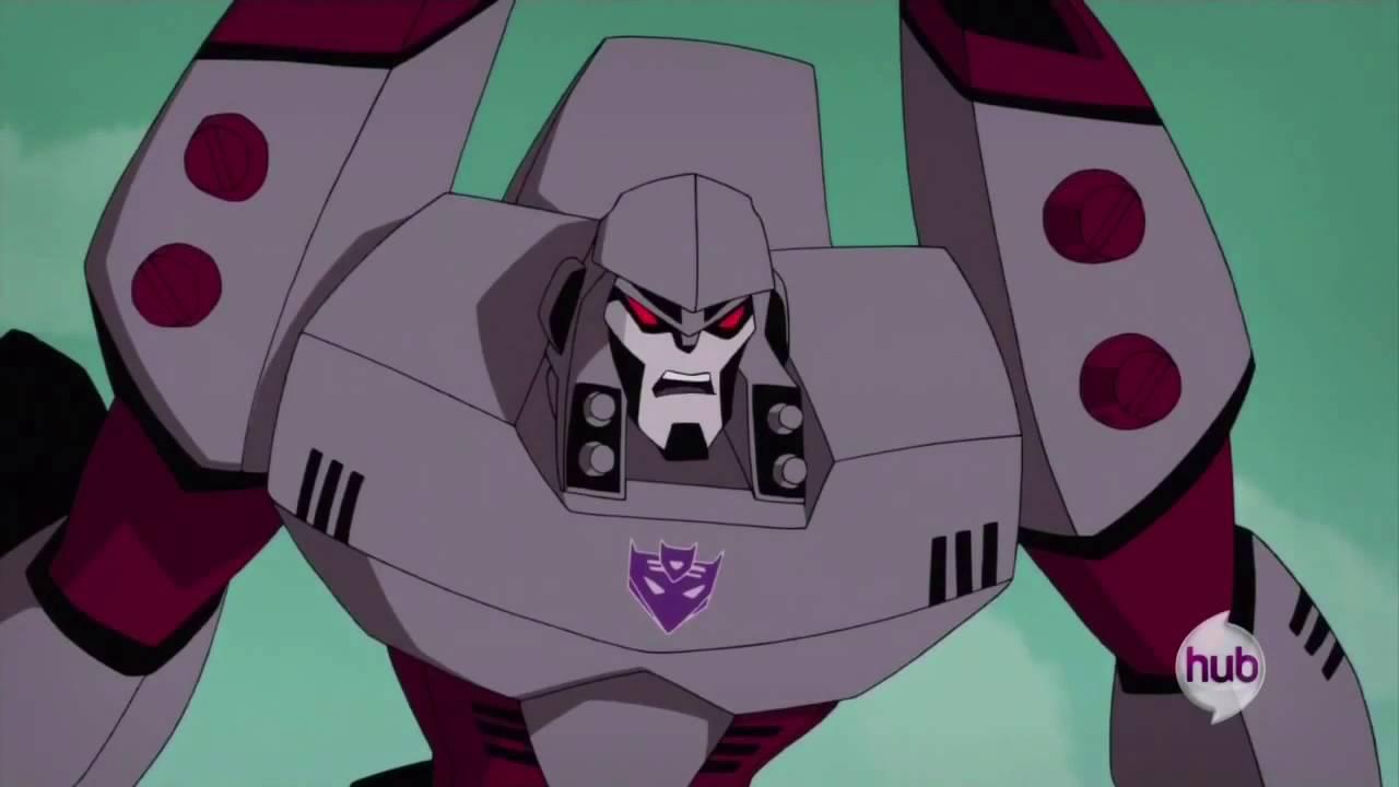 Transformers animated optimus prime vs megatron final - Transformers cartoon optimus prime vs megatron ...