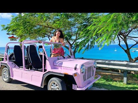 Driving Anguilla in MOKES!