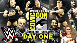 WWE SDCC 2018 - SDCC WWE Mattel Wrestling Figure Reveals - Day One (1 of 2)