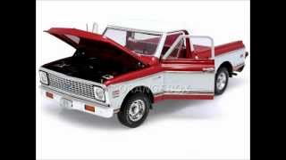 vuclip Orangebox Miniaturas Chevrolet Pick Up C-10 Fleetside 1972 Highway 61