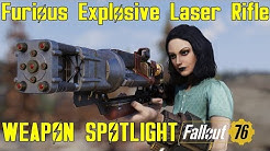 Fallout 76: Weapon Spotlights: Furious Explosive Laser Rifle