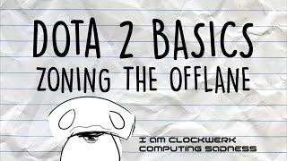 Dota 2 Basics   Zoning the offlane